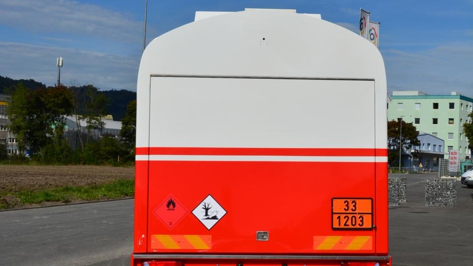 Tankfahrzeug